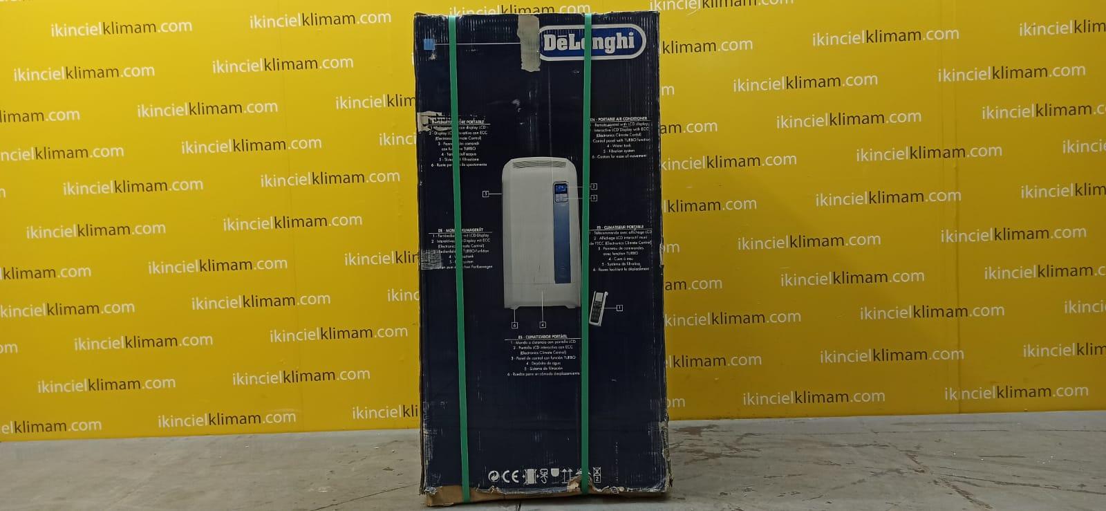 DELONGI PAC WE110ECO Pinguino ( Sadece Soğutma )  Enerji Sınıfı 11000 BTU On-Off  Klima