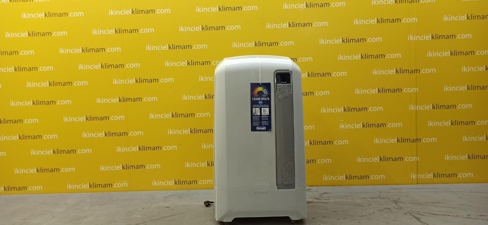 DELONGI PAC WE125 Pinguino ( Sadece Soğutma ) A Enerji Sınıfı 12500 BTU On-Off  Mobil Portatif Klima