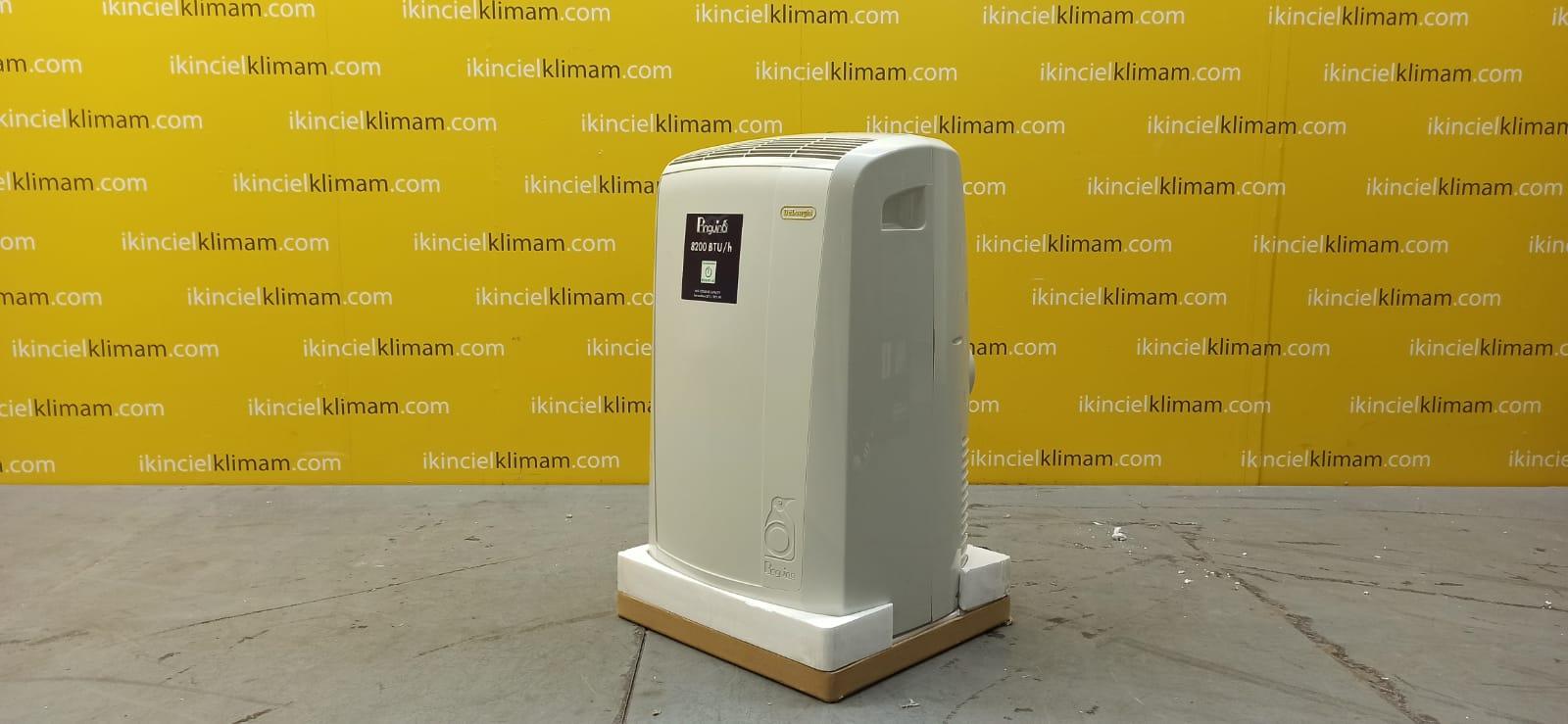 DELONGI PAC N76 Pinguino ( Sadece Soğutma ) A Enerji Sınıfı 8200 BTU On-Off  Mobil Portatif Klima